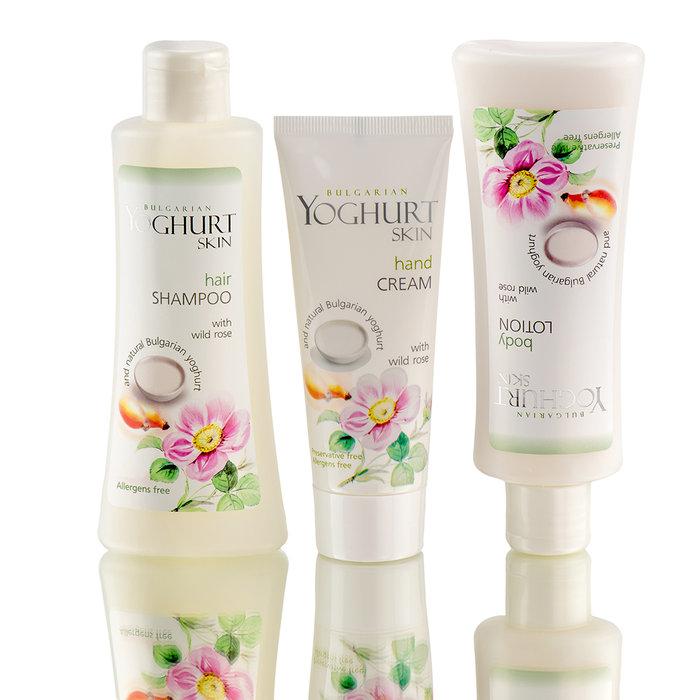 kozmetika s yoghurt