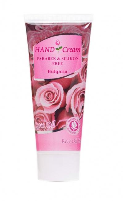 крем за ръце роза
